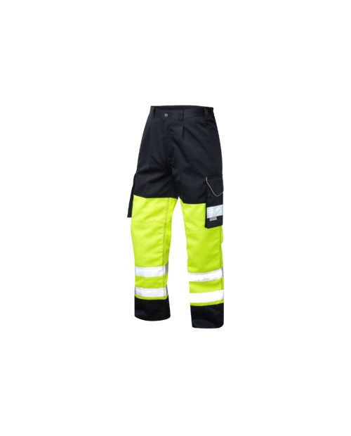 CT01 LEO Bideford Class 1 Two Tone Hi-Vis Cargo Trouser