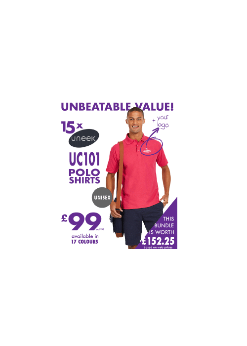 15 POLO'S for £99