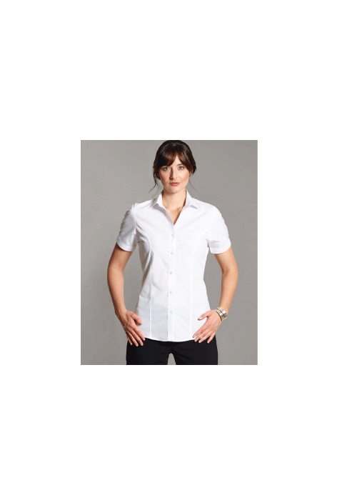 Short Sleeve Cotton Rich Blouse