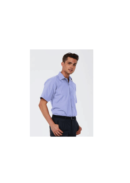 Men's Slim Fit Short Sleeve Shirt