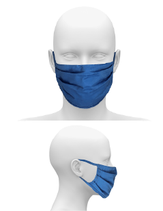 COMMUNITY FACE MASK WITH EARLOOPS