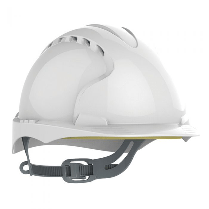 JSP® EVO®2 VENTED SAFETY HELMET WHITE