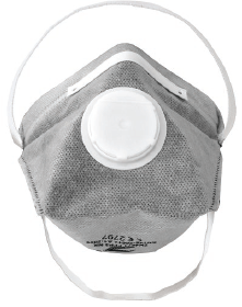 FFP3 CARBON ACTIVATED VALVED MASK